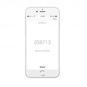 TOTP Two Factor Authentication